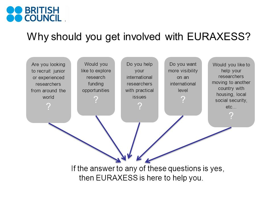 Why should you get involved with EURAXESS