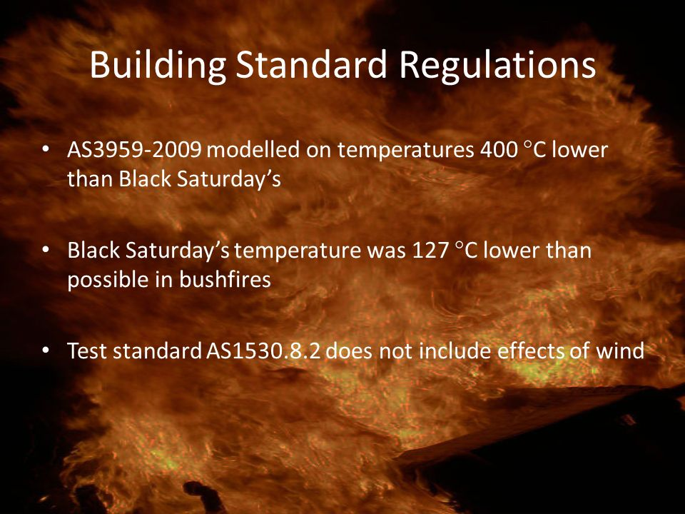 Building Standard Regulations