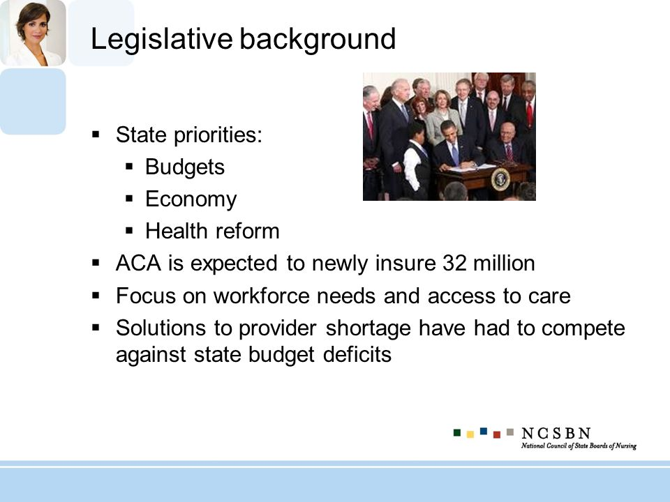 Legislative background