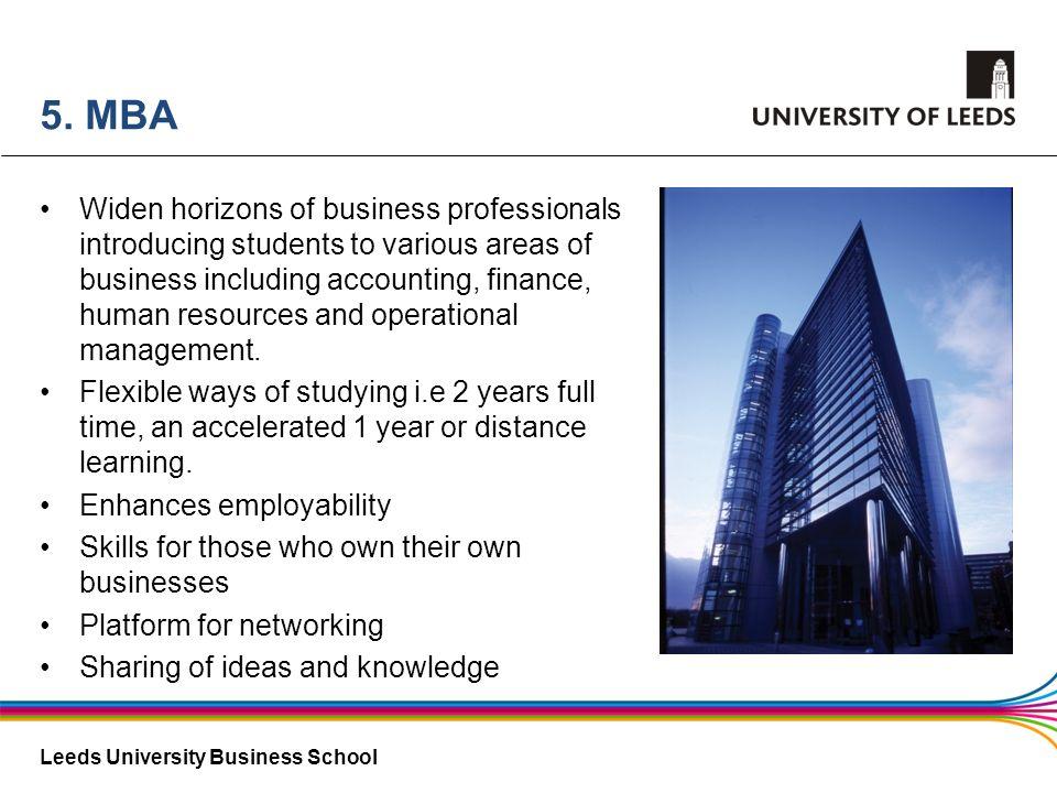 5. MBA