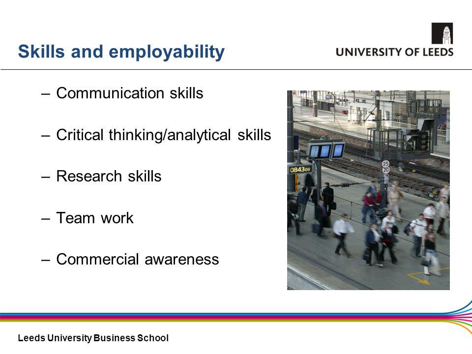 Skills and employability
