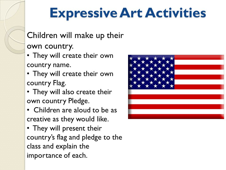 Expressive Art Activities