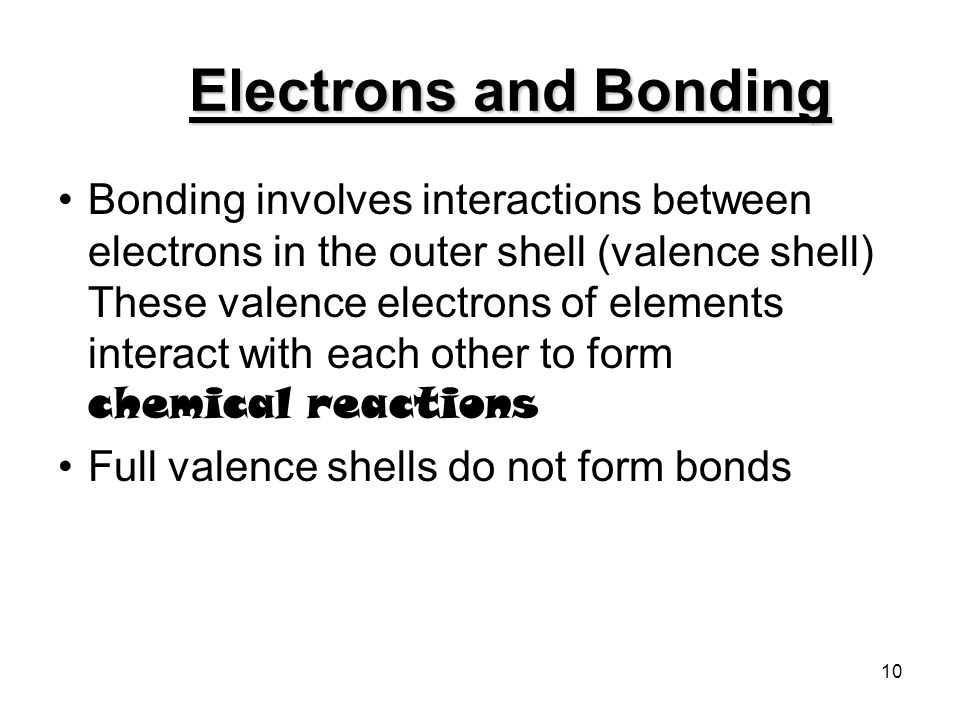 4/22/2017 Electrons and Bonding.