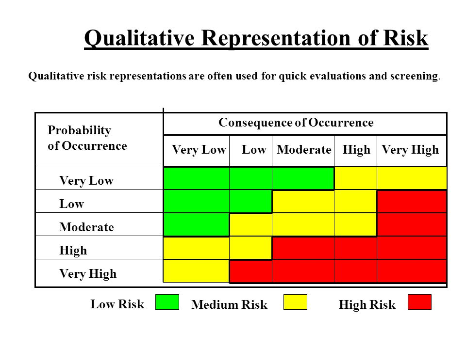 Qualitative Representation of Risk
