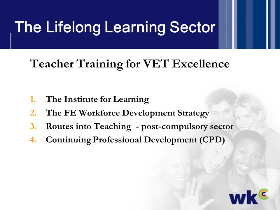 The Lifelong Learning Sector