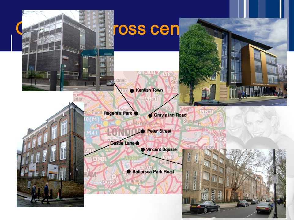 Our sites across central London