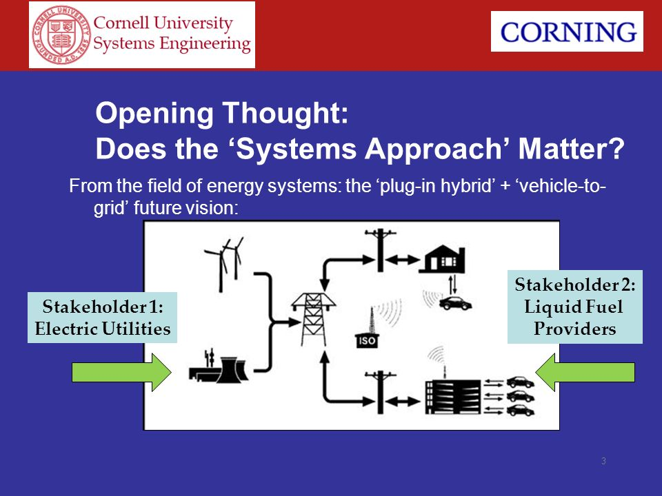 Opening Thought: Does the 'Systems Approach' Matter