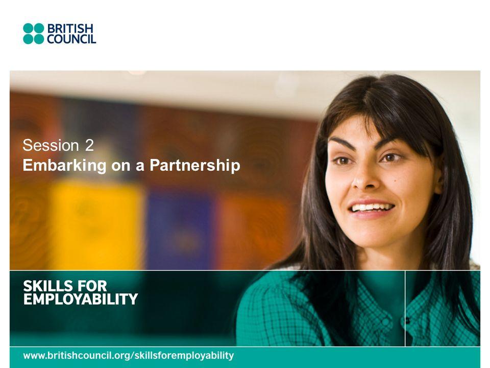 Embarking on a Partnership