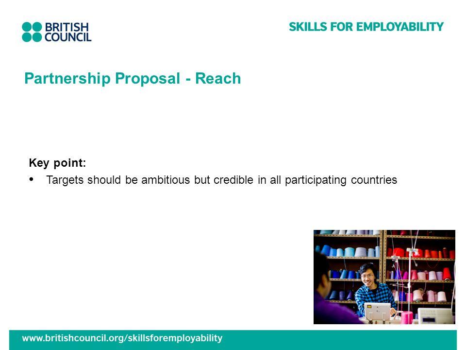 Partnership Proposal - Reach