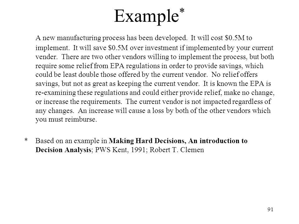 Example*