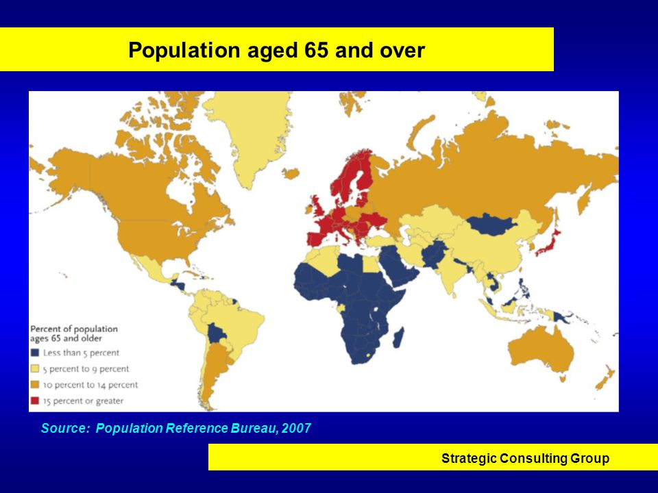 Population aged 65 and over
