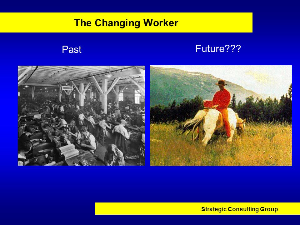The Changing Worker Past Future