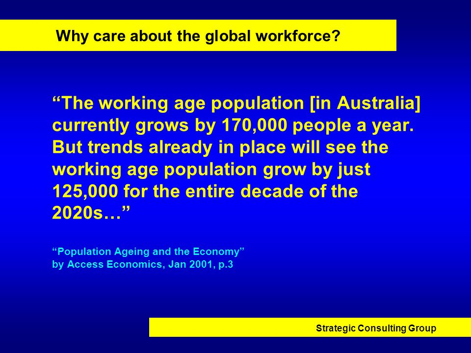 Why care about the global workforce