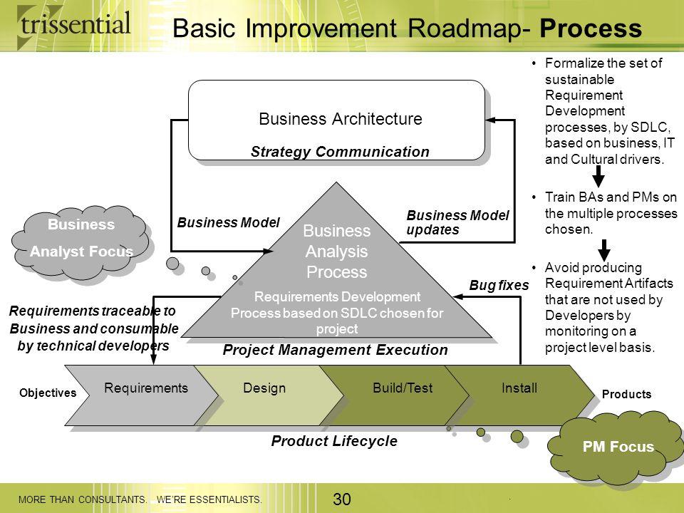 Basic Improvement Roadmap- Process