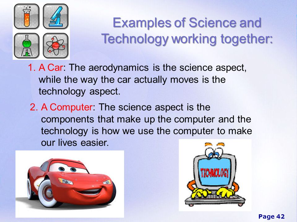 thematic essay science and technology