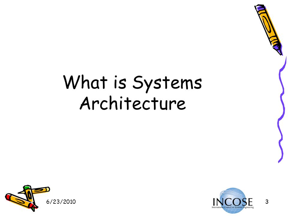 What is Systems Architecture