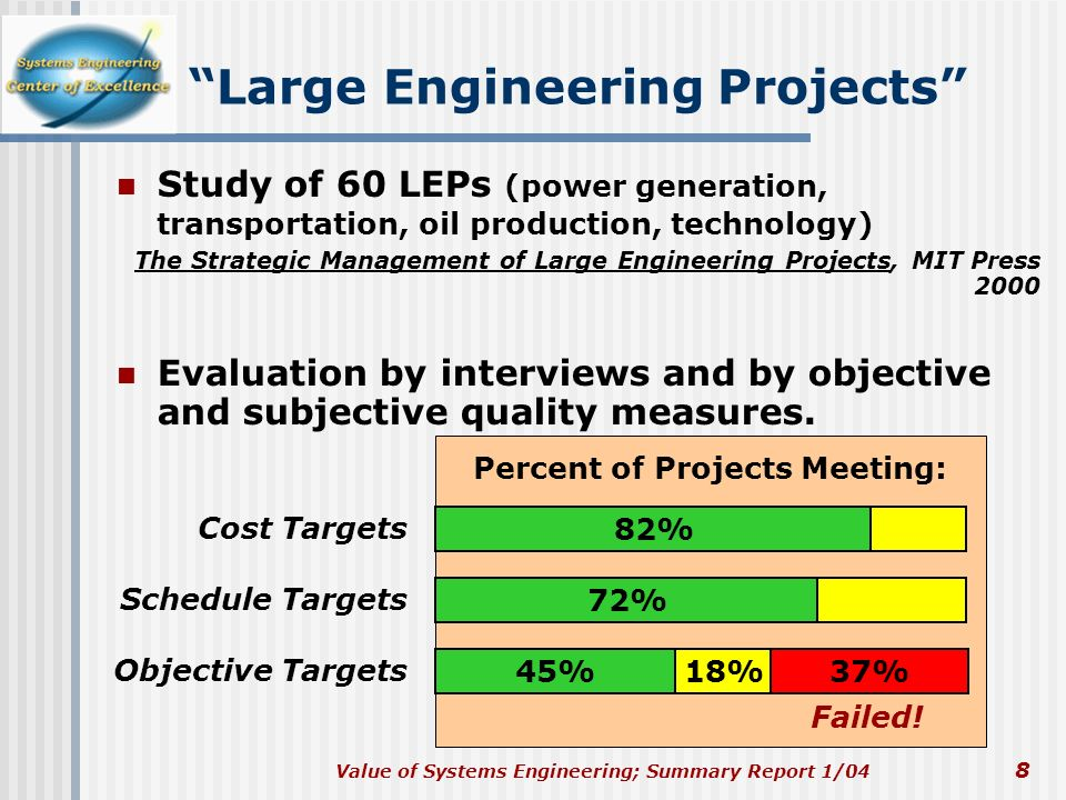 Large Engineering Projects