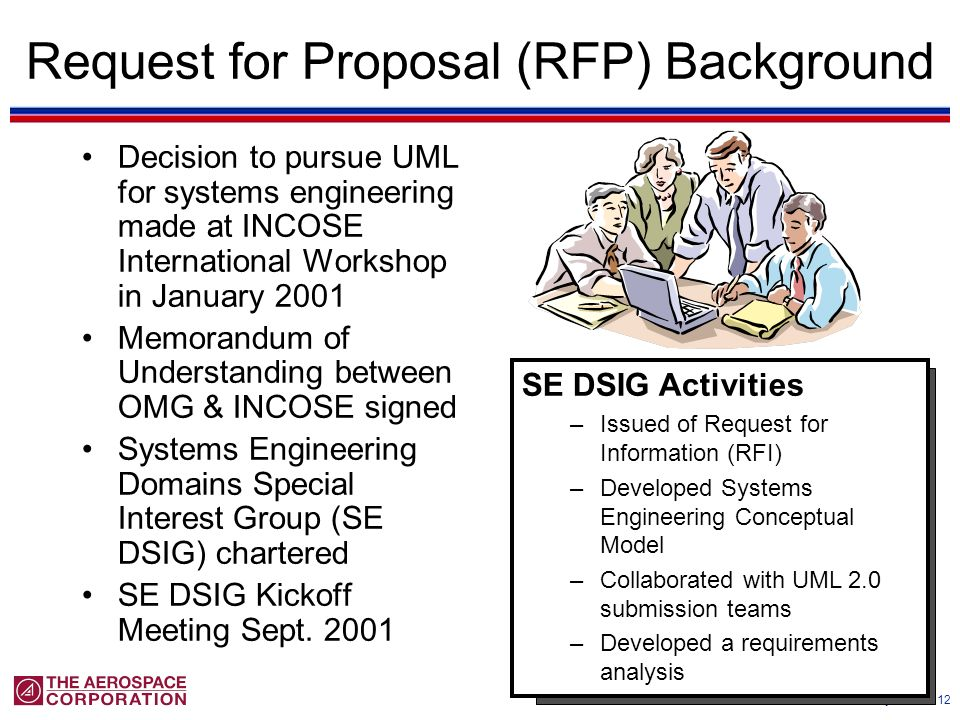 Request for Proposal (RFP) Background