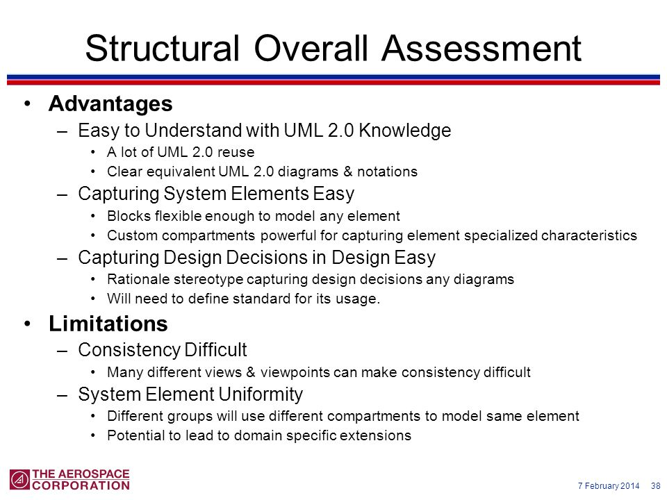 Structural Overall Assessment