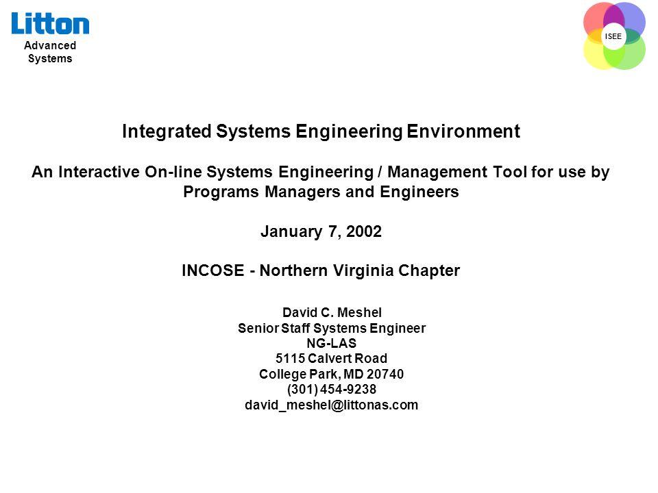 Senior Staff Systems Engineer