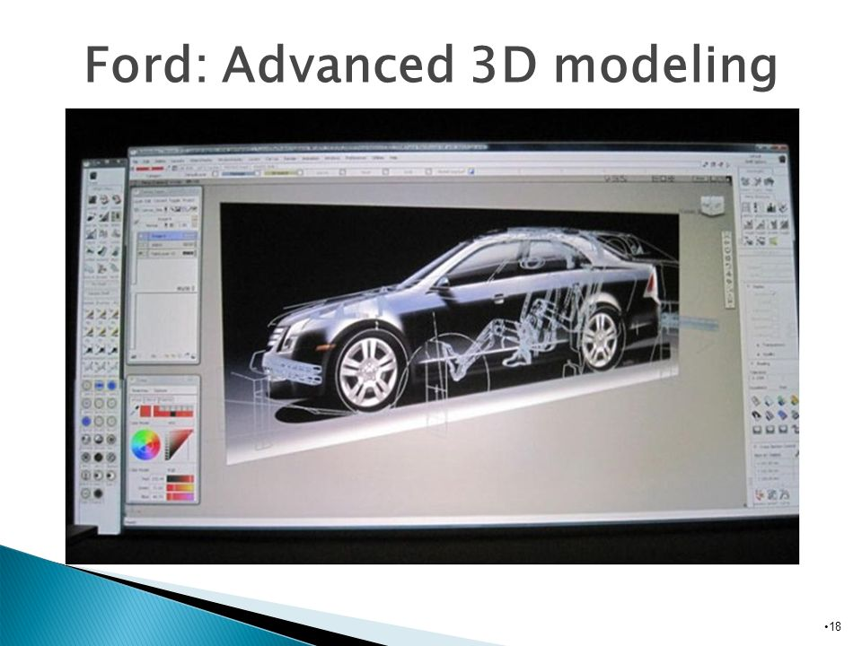 Ford: Advanced 3D modeling