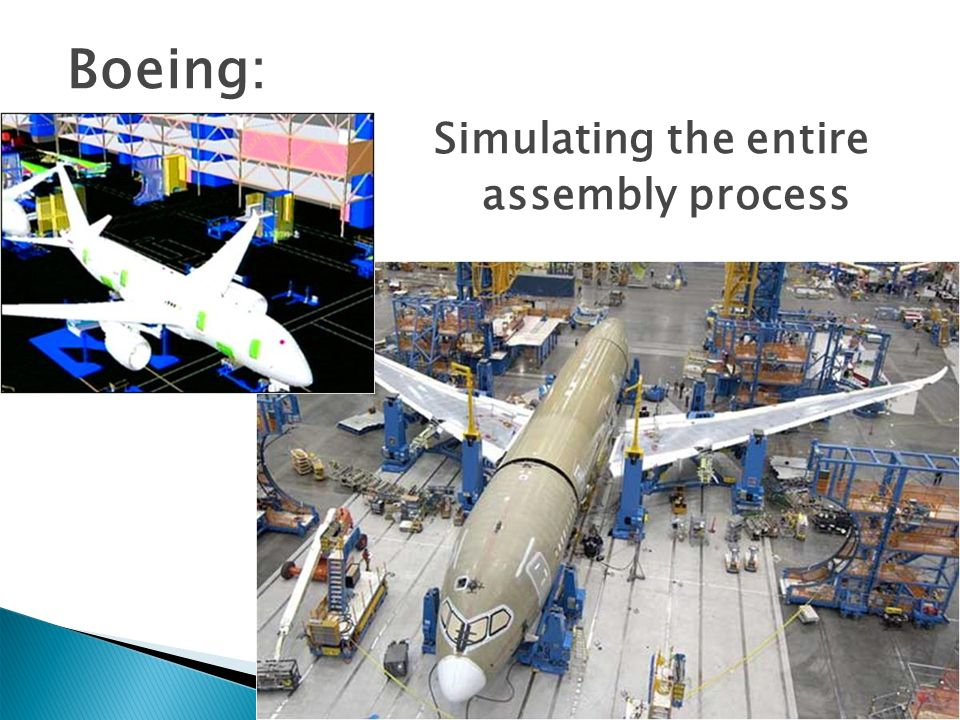 Boeing: Simulating the entire assembly process