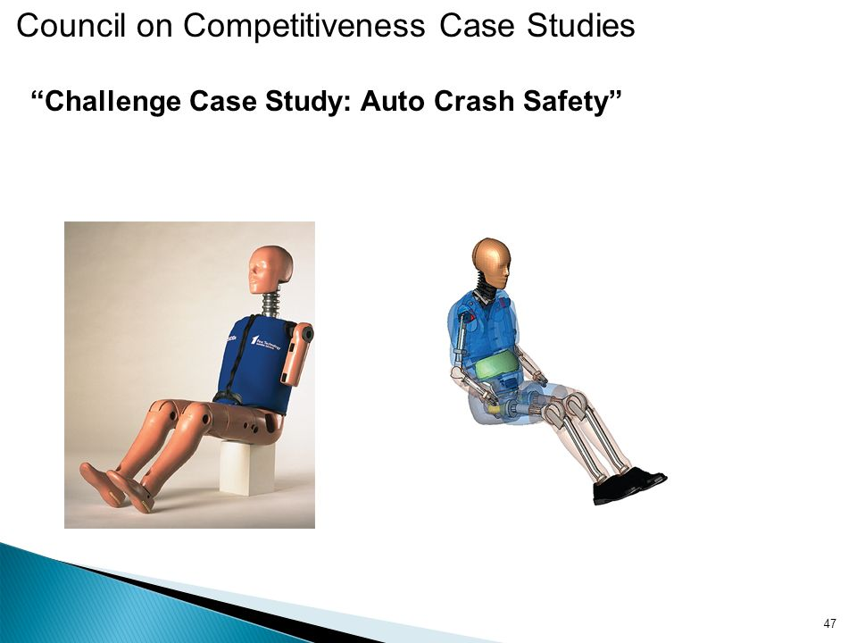 Challenge Case Study: Auto Crash Safety