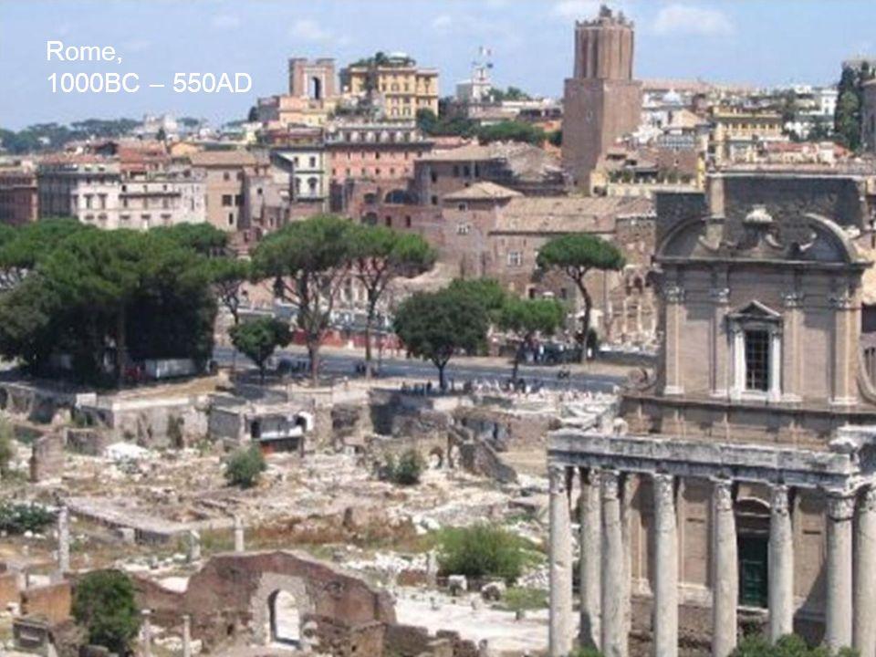 Rome, 1000BC – 550AD / DFM, 2010 5 5 5