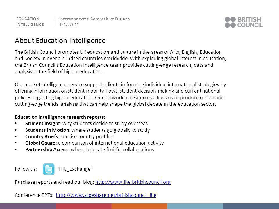 About Education Intelligence