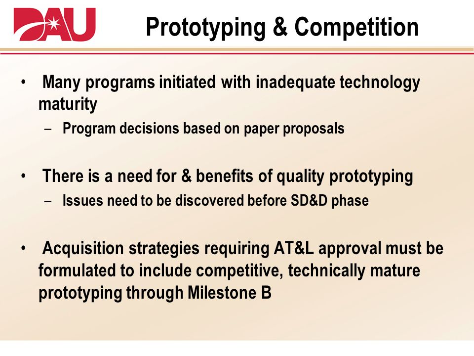 Prototyping & Competition