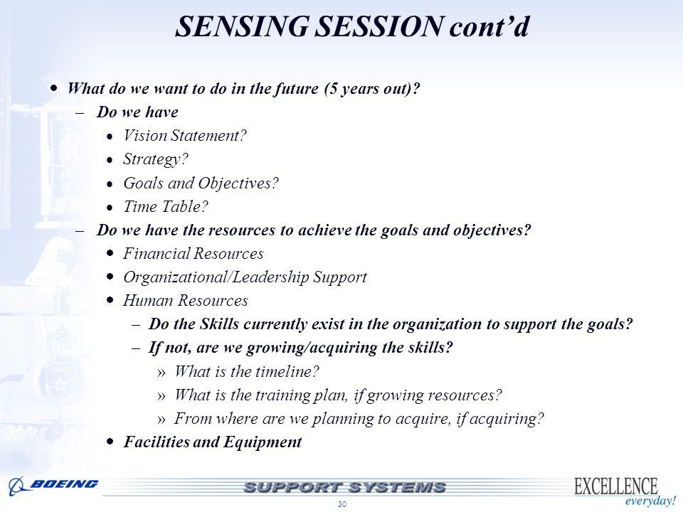 SENSING SESSION cont'd
