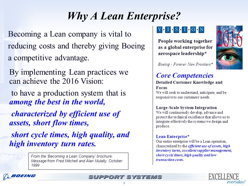 Why A Lean Enterprise Becoming a Lean company is vital to
