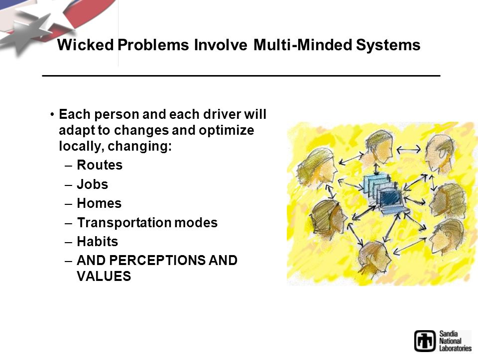Wicked Problems Involve Multi-Minded Systems