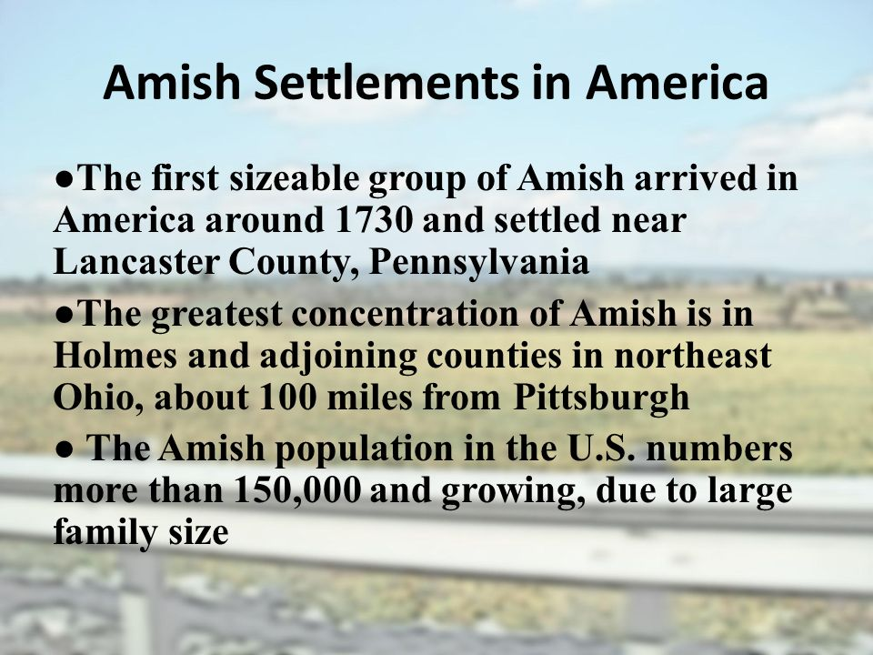 a research on the culture and religious beliefs of amish Home page for the amish outlaws, an amish cover band playing all genres of music the mennonite/amish beliefs are very rigid about 90% of young adults end up being baptized back into the religion, and the cultural ways of the amish life.