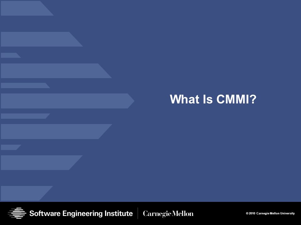 What Is CMMI Presentation Title 3/27/2017