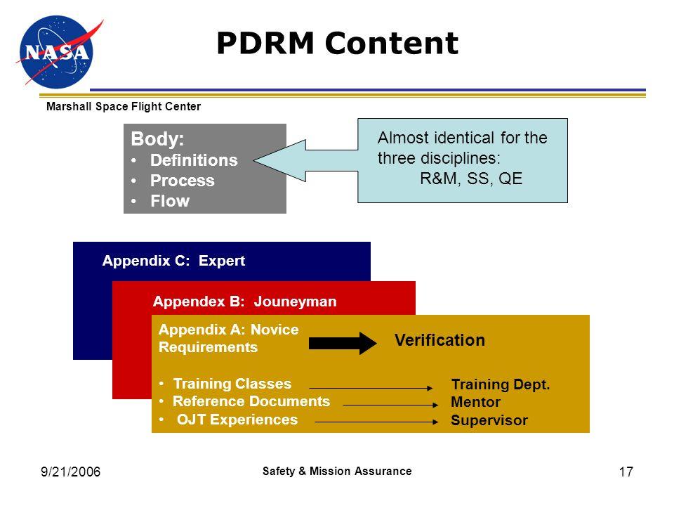Safety & Mission Assurance