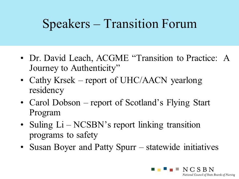 Speakers – Transition Forum