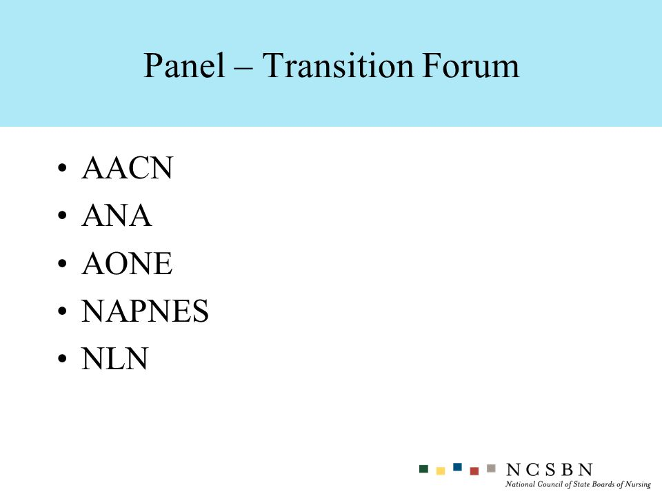 Panel – Transition Forum
