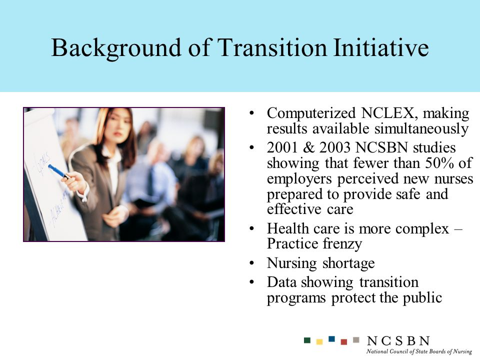 Background of Transition Initiative
