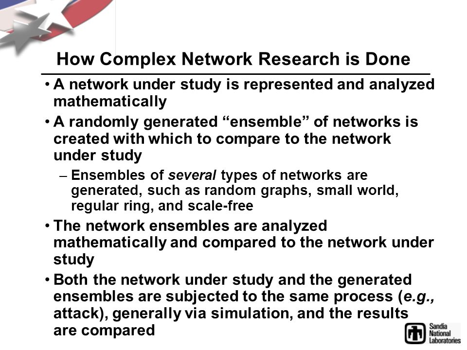 How Complex Network Research is Done