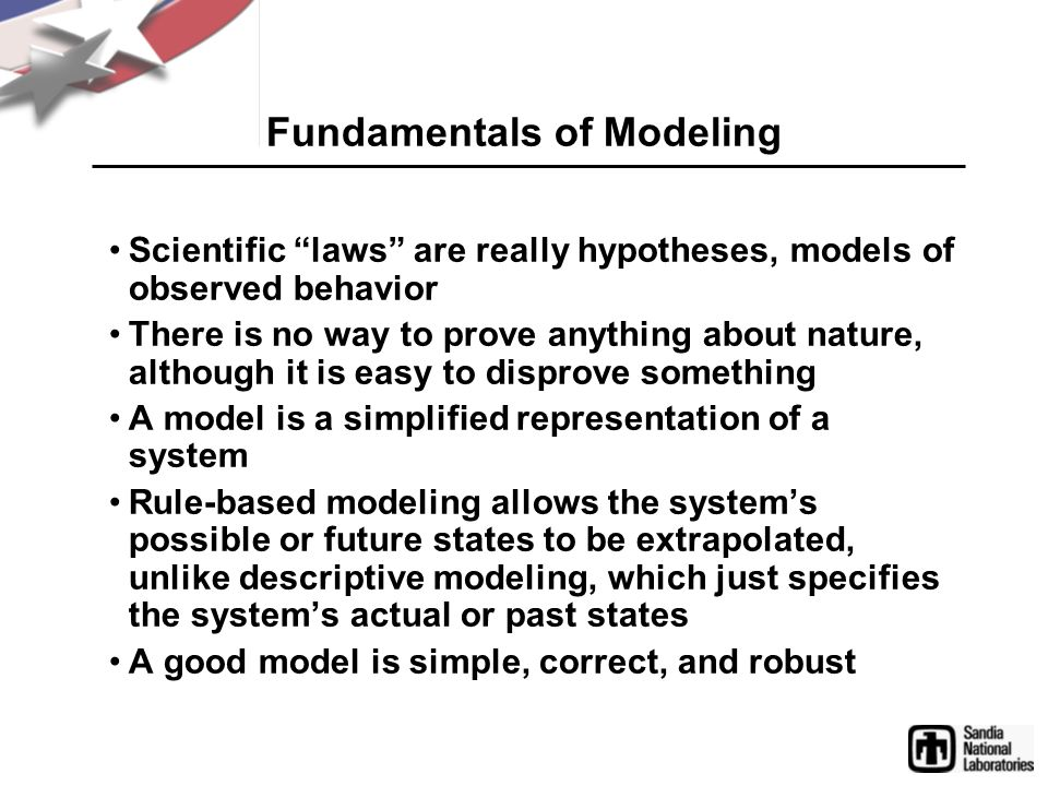 Fundamentals of Modeling