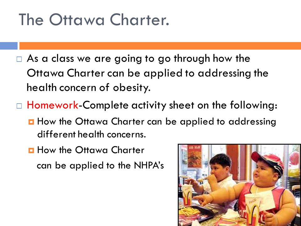 the ottawa charter fact sheet