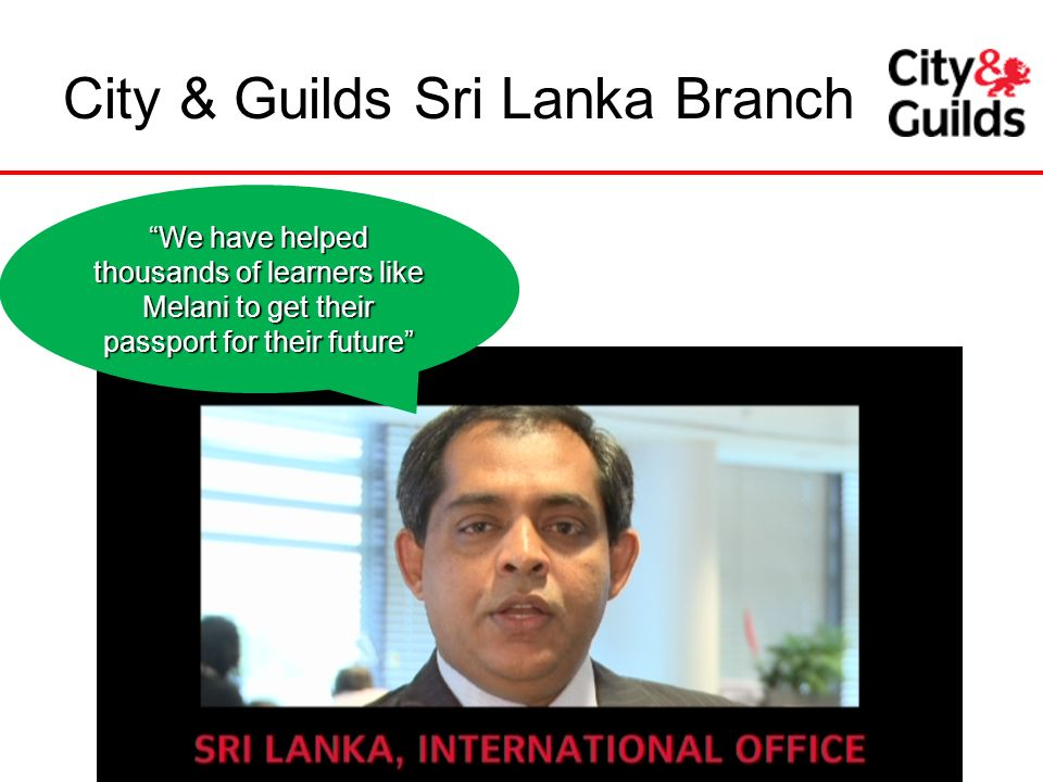 City & Guilds Sri Lanka Branch