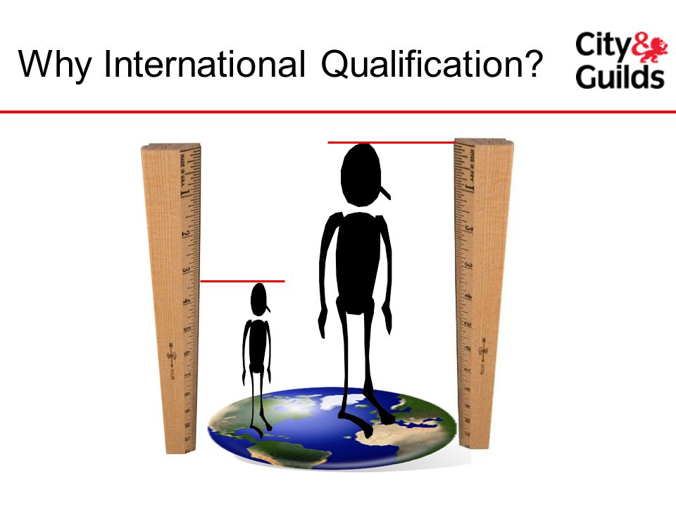Why International Qualification
