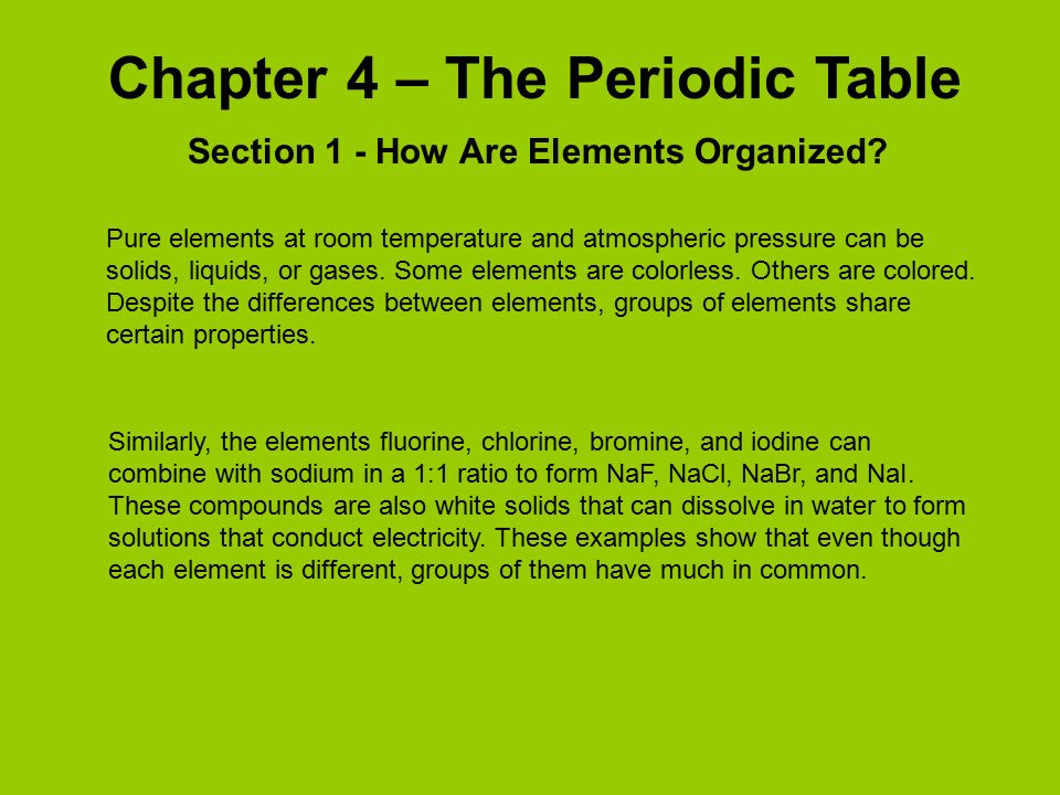 Chapter 4 the periodic table ppt video online download chapter 4 the periodic table urtaz Images