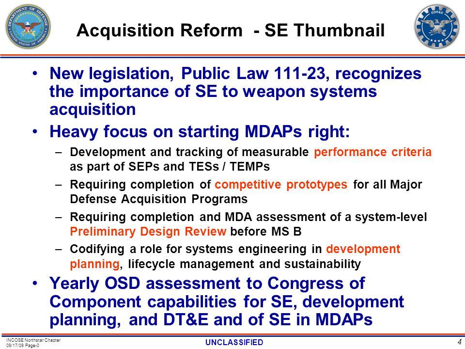 Acquisition Reform - SE Thumbnail