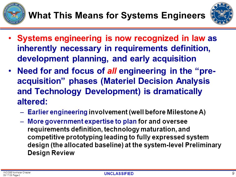 What This Means for Systems Engineers