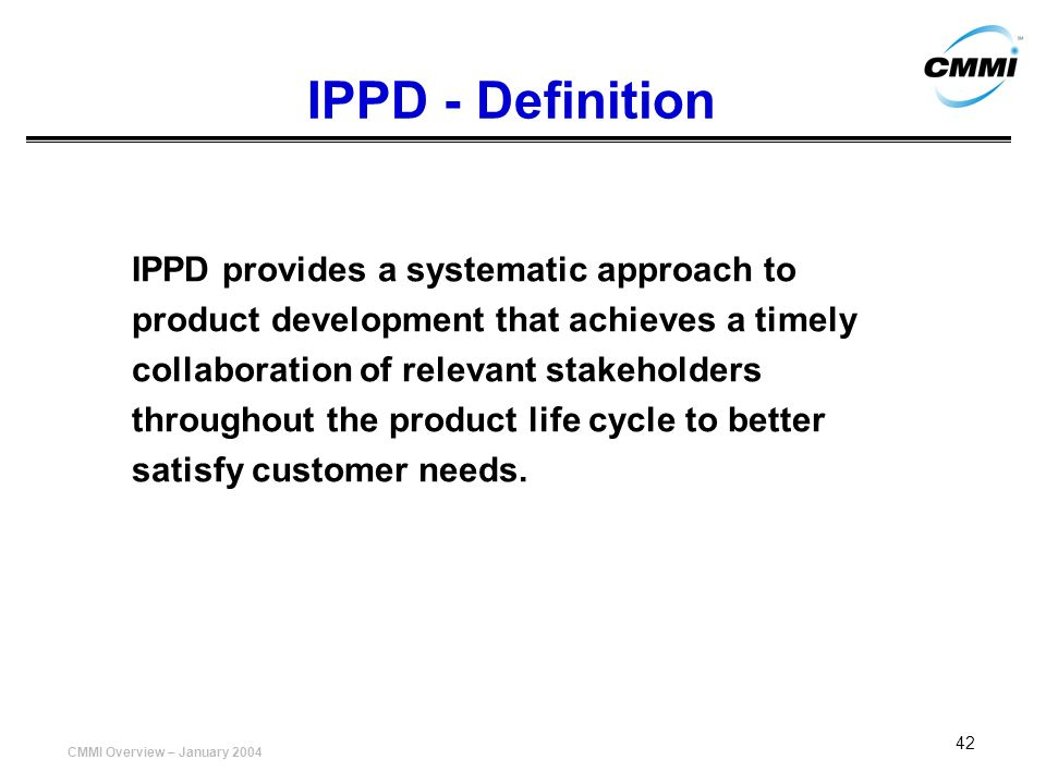 IPPD - Definition