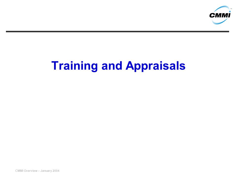 Training and Appraisals