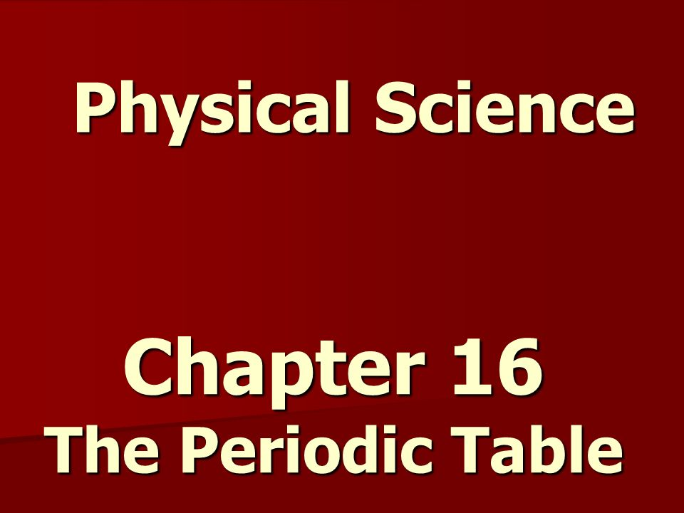 Chapter 16 the periodic table ppt video online download chapter 16 the periodic table urtaz Choice Image